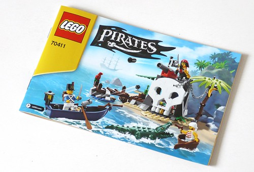 LEGO Pirates 70411 Treasure Island ins01