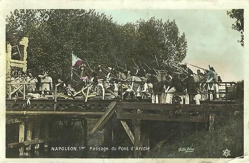 Napoléon 1er. Le pont d'Arcole