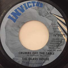 THE GLASS HOUSE:CRUMBS OFF THE TABLE(LABEL SIDE-A)