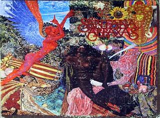 "SANTANA Abraxas + Large Poster Original Usa Gatefold 12"" Lp Vinyl"