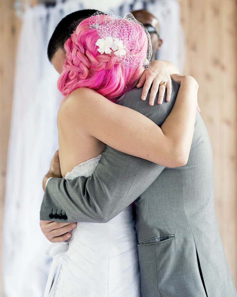 Pies, pizza, and pink hair: a Florida nature center wedding