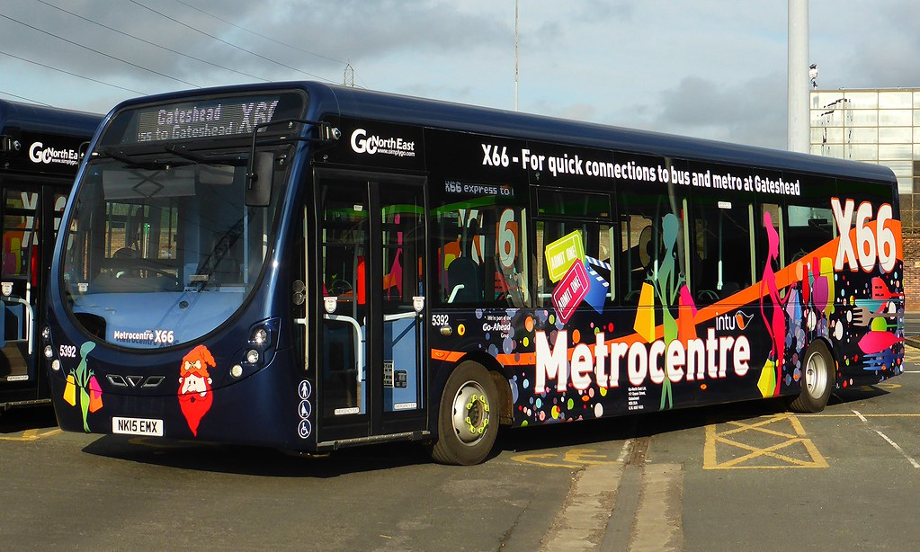 Go North East New Streetlites For Intu Metrocentre X66