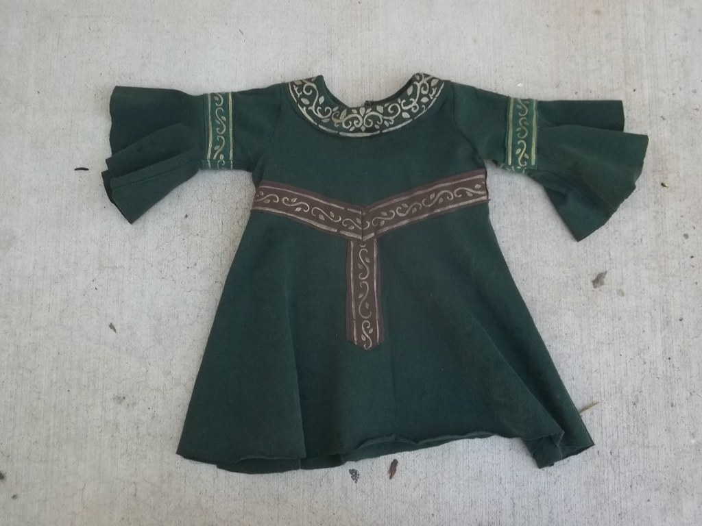 Baby Elven Dress with Belt
