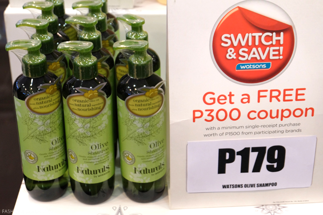 watsons organic products