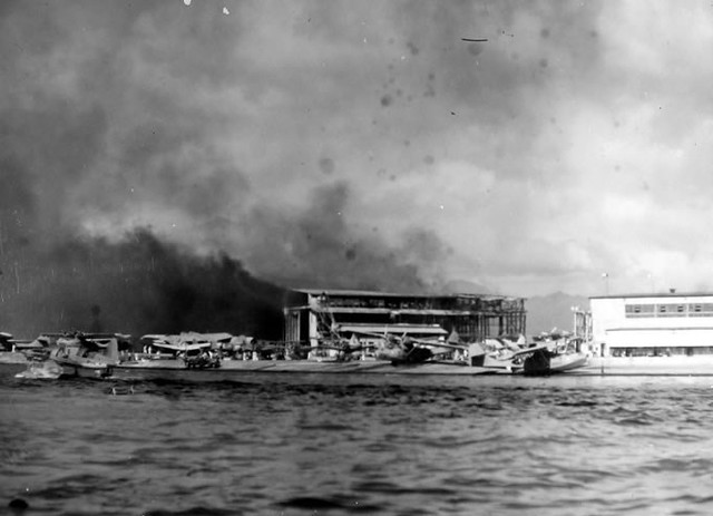 Ford Island Pearl Harbor Attack