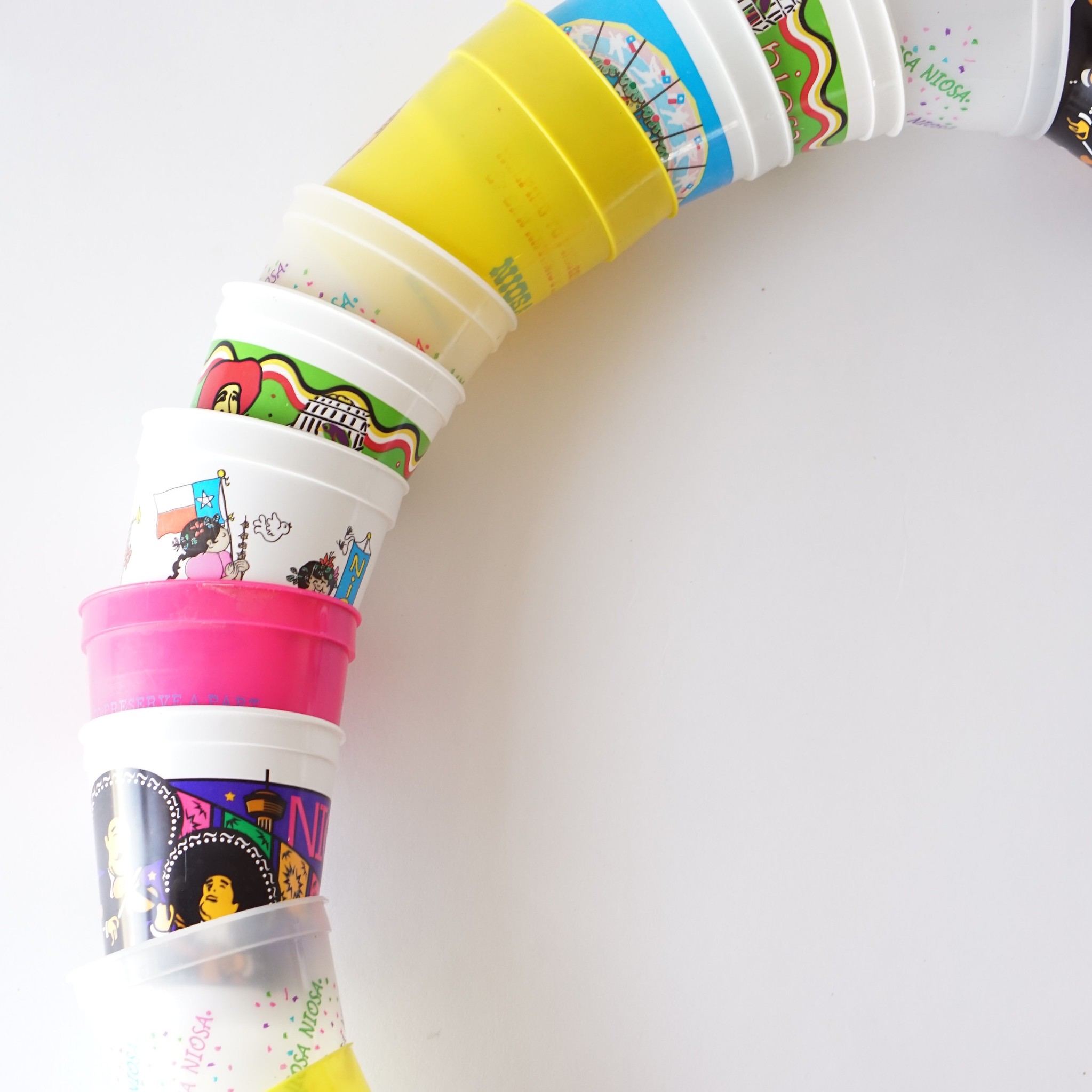 DIY Fiesta Cup Wreath