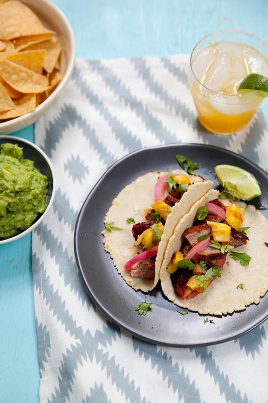 Grilled Pork al Pastor Tacos