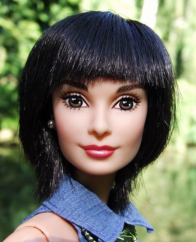 Audrey Hepburn Tries Mireille Mathieu Haircut Lovely Mirei Flickr