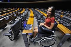 Mara Gabrilli, Cámara de diputados de Brasil-HeadMouse