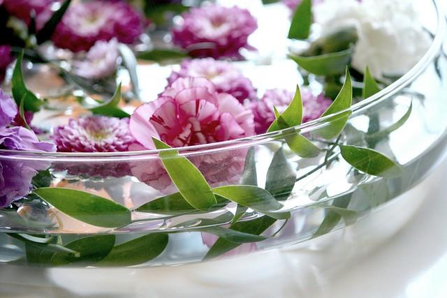 Kukka-asetelma Kaikki Paketissa