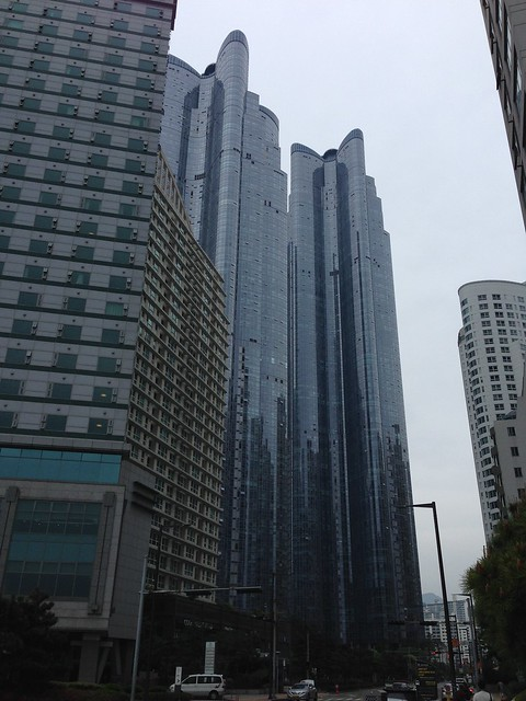 Zenith Towers in Busan