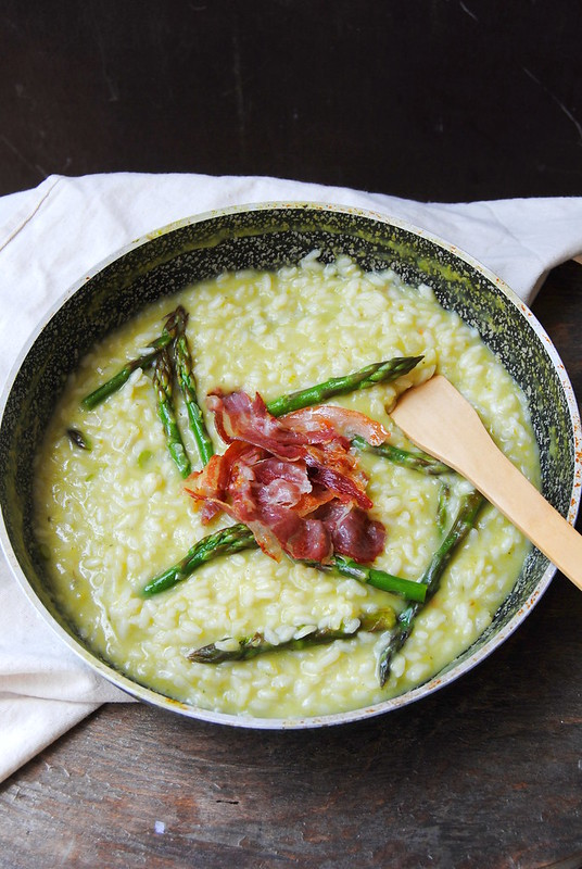 Green Asparagus Risotto