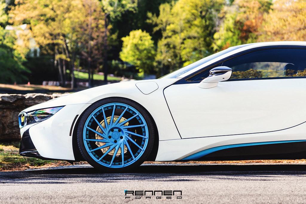 BMW I8 On Rennen Rl 51 Wheels