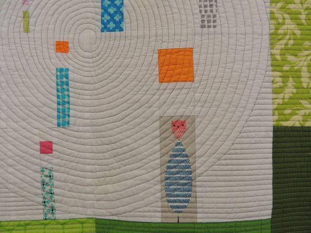 i Quilt by Kathy York - Detail