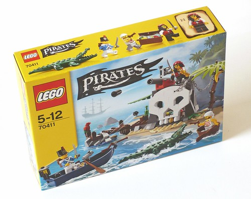 LEGO Pirates 70411 Treasure Island box01