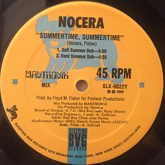 NOCERA:SUMMERTIME,SUMMERTIME(LABEL SIDE-B)