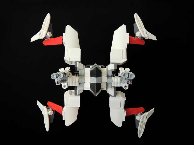 StarViper class attack platform, by LucasLaughing, in the episode XII results on Eurobricks