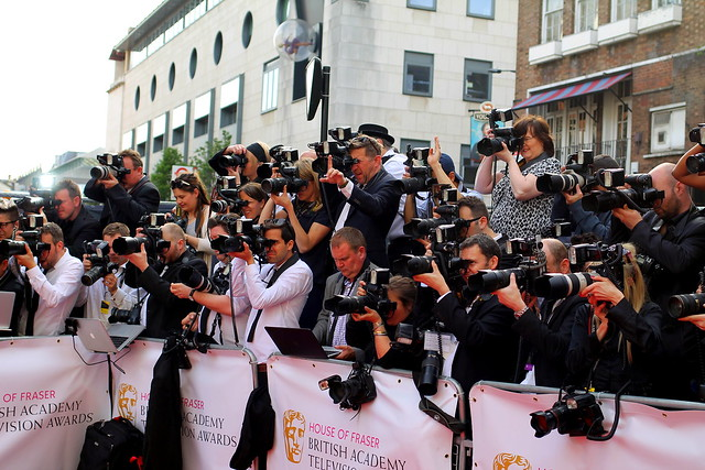 BAFTA Red Carpet 2015 (31)