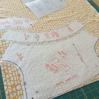 freezer paper pattern tutorial | by frommartawithlove