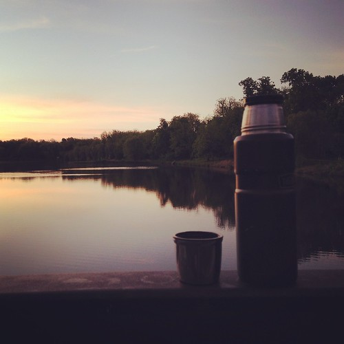 Day Two: 3-Speed to Nathanael Greene Park for Coffee and Sunrise. Springfield Sunrise Coffee & Bicycle Club