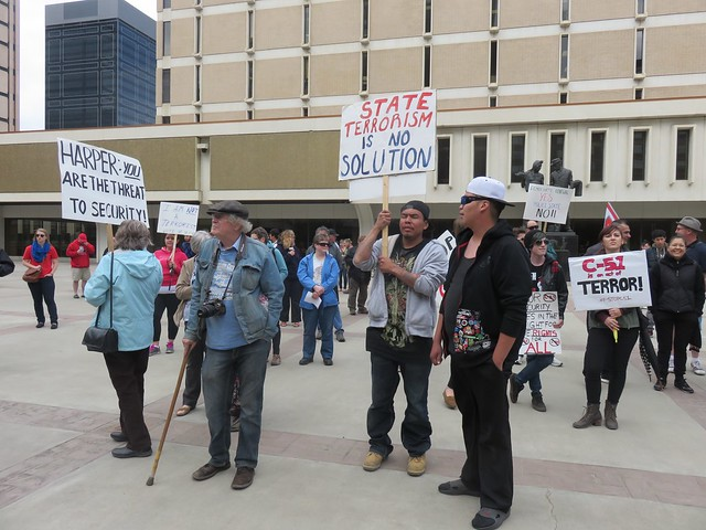 Third Day of Action Against Bill C-51