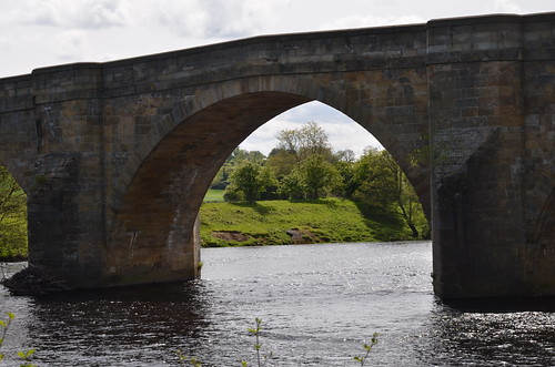North Tyne River Chollerford May 15 4