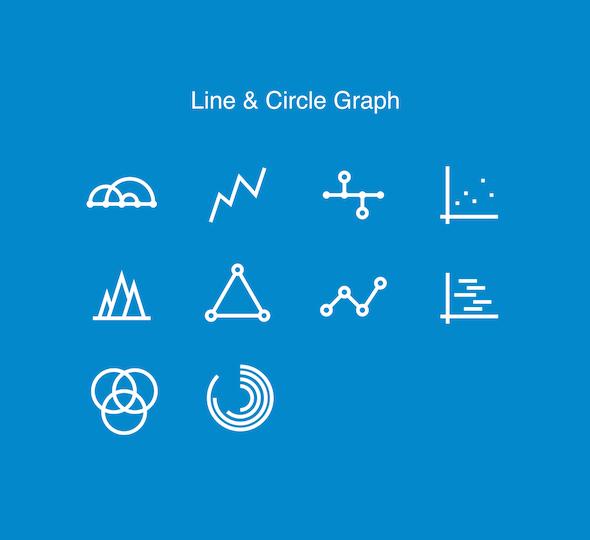 Line & Circle Graph