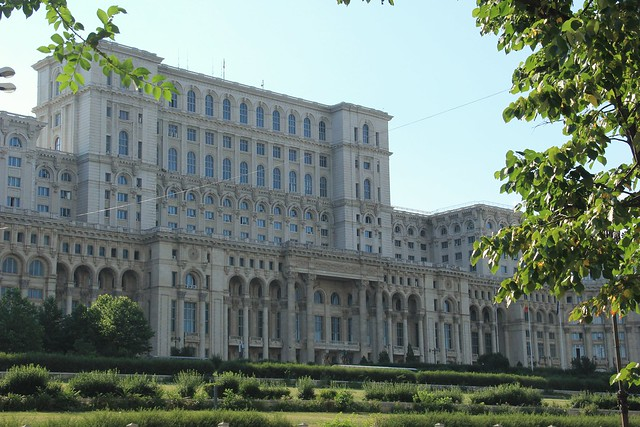Palace of Parliament, Bucharest (and this is only a small part of it!)