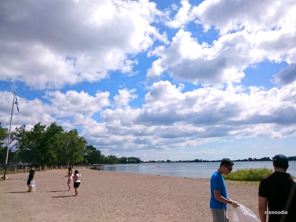 Great Canadian Shoreline Cleanup at Cherry Beach in Toronto