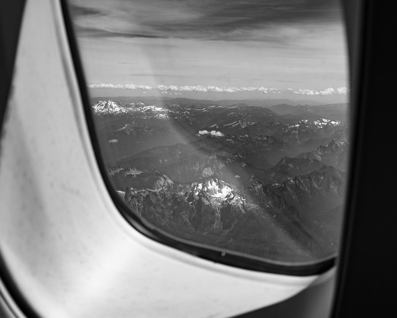 window seat to the cascades