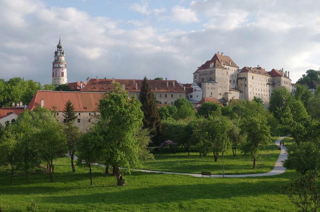 Český Krumlov - castle