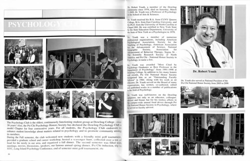 Robert Youth in 2009 Yearbook