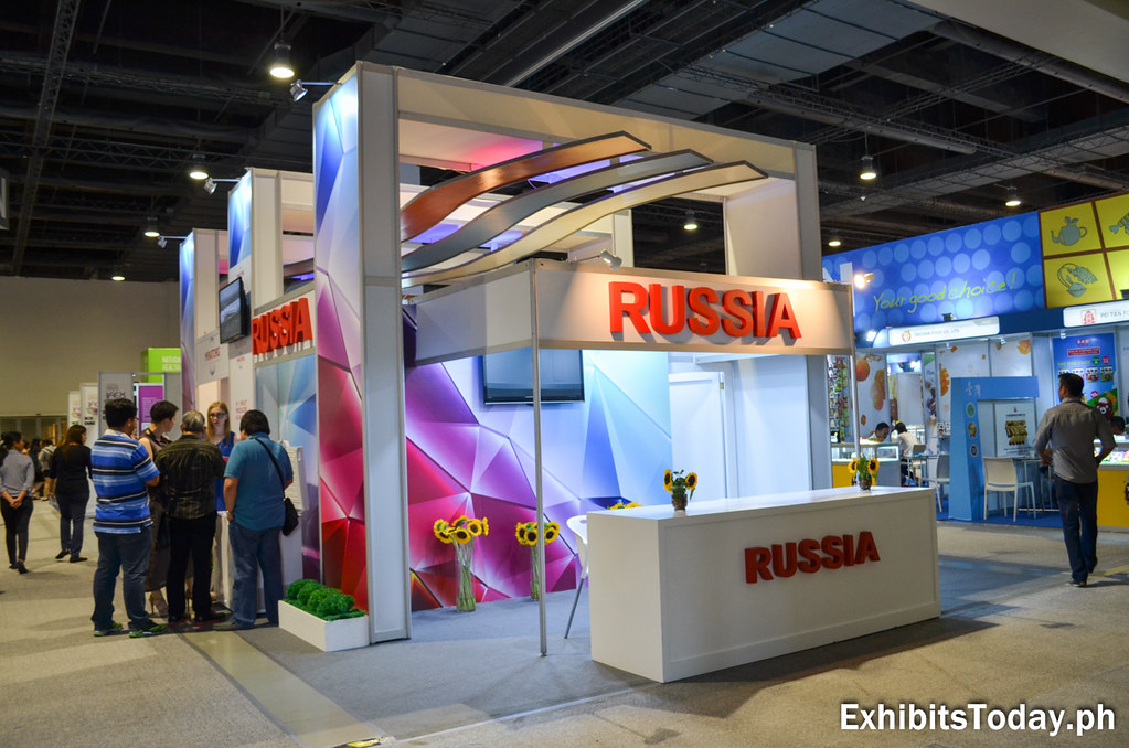 Russia Exhibit Stand