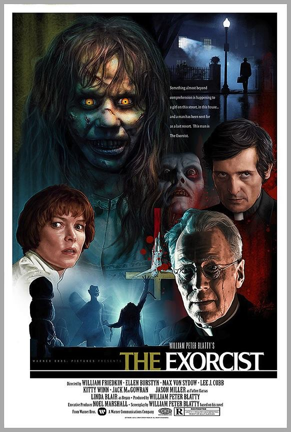 The Exorcist by Christopher Franchi