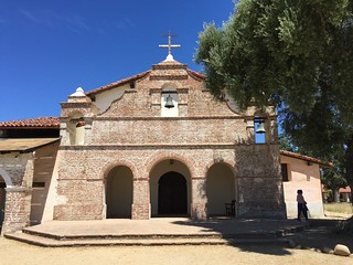 San Antonio de Padua Mission near Jolon CA 16 July 2016