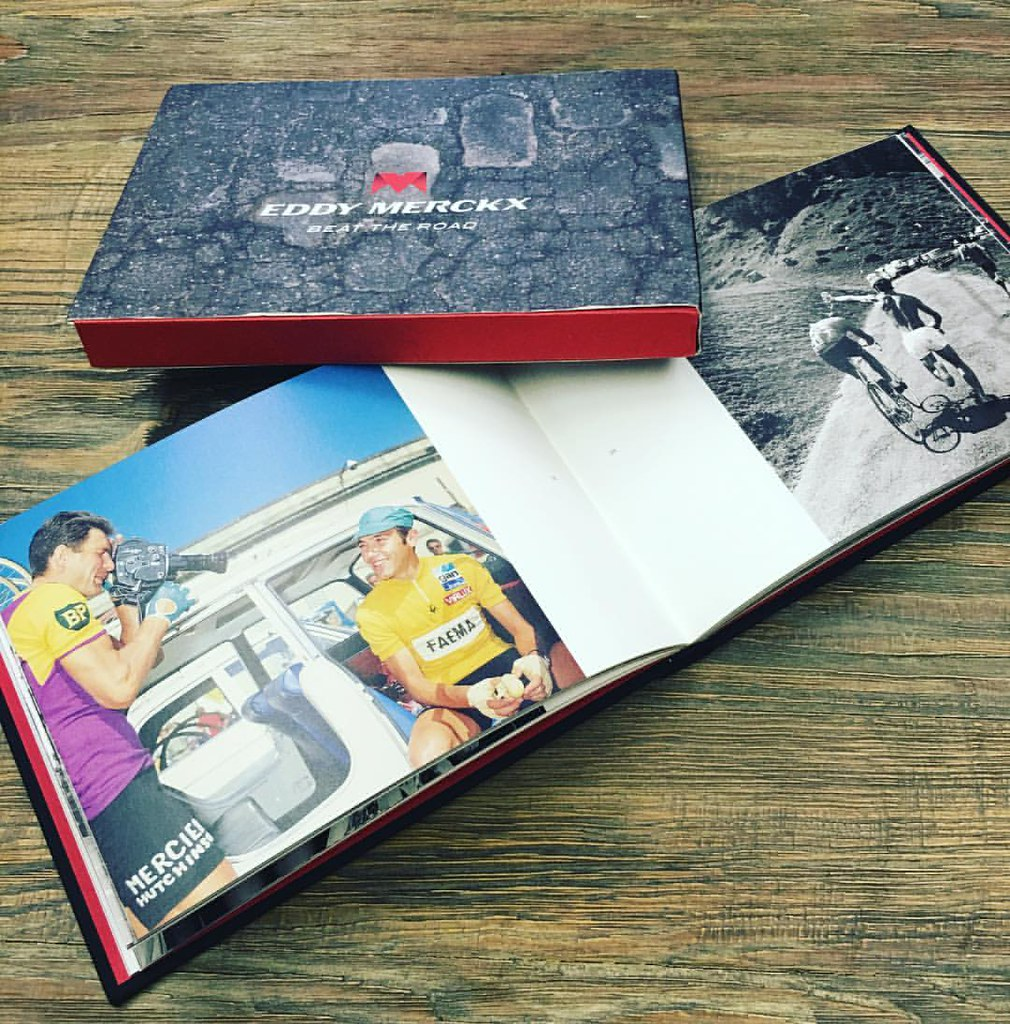 5f6b49c22 Our  stravaclub giveaway of the day. Eddy Merckx hardcover…