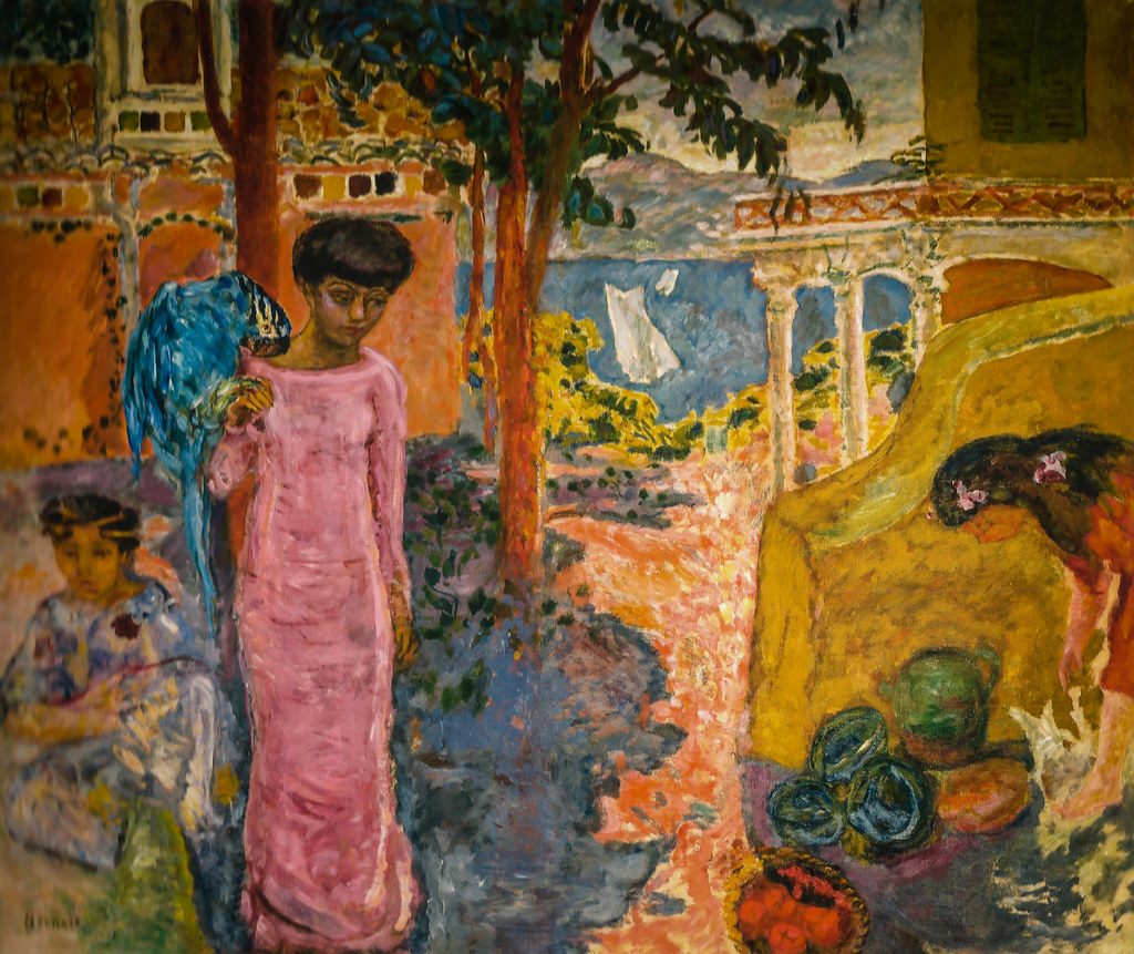 Pierre Bonnard - Woman with a Parrot, 1910 at Pierre Bonna ...