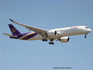 Thai Airways International. Airbus A350-941.