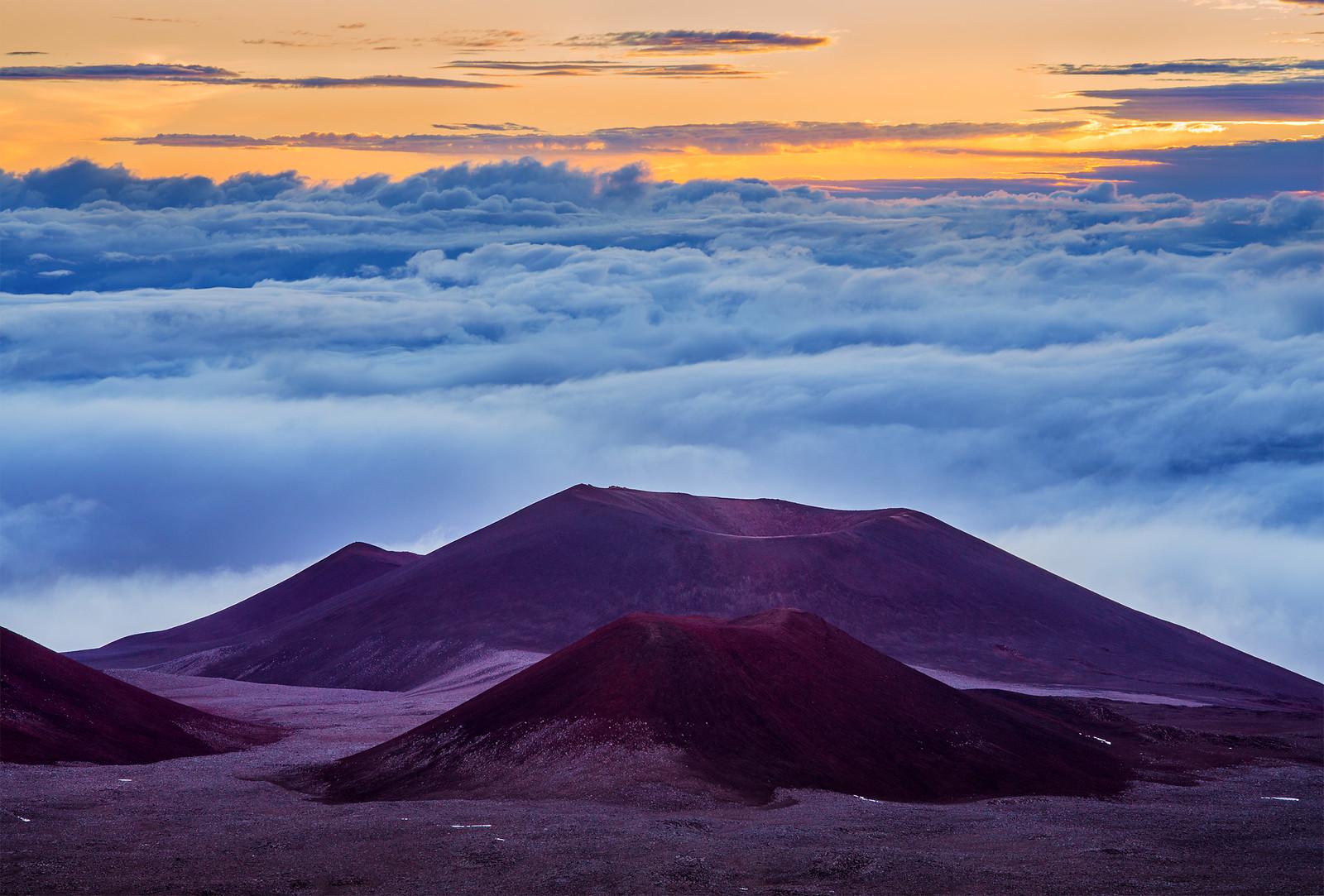 najwyższa góra świata. Mauna Kea