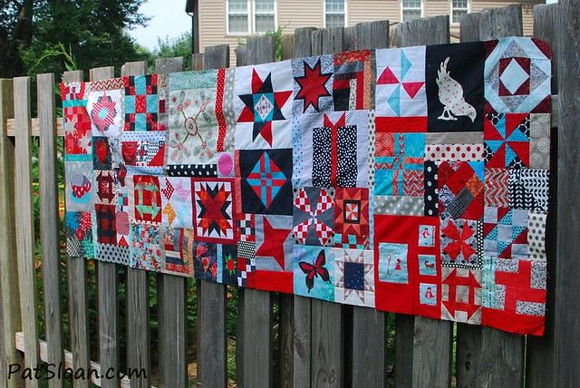 pat sloan birthday quilt aug 8 2014 pic 6