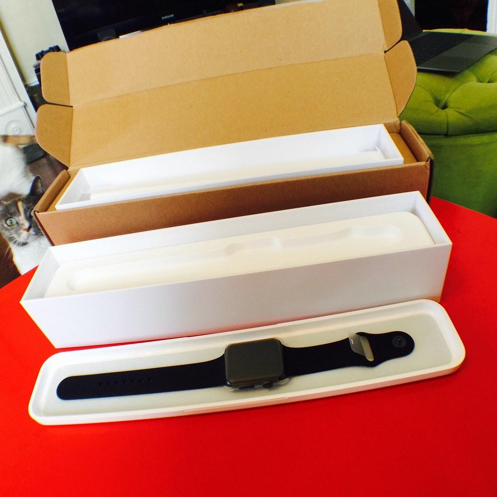 Watch Packaging Open