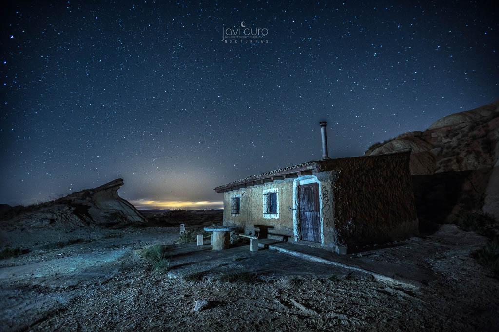 Bardenas Reales Cabaña De Tripa Nocturna Ii Cabaña De Tr Flickr