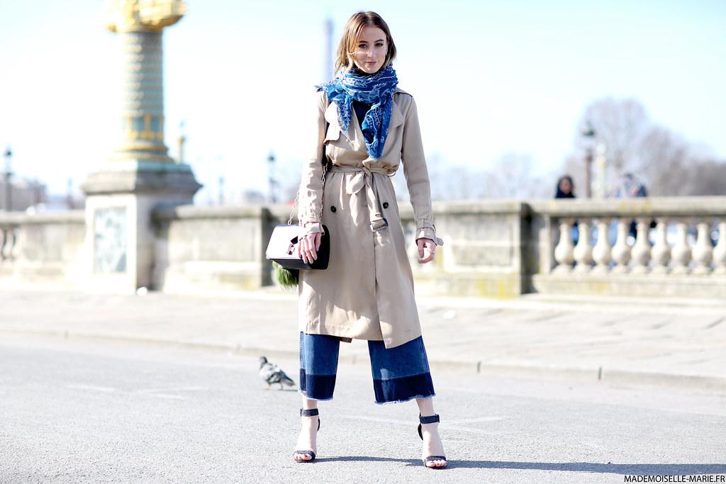 Noor de Groot at Paris fashion week