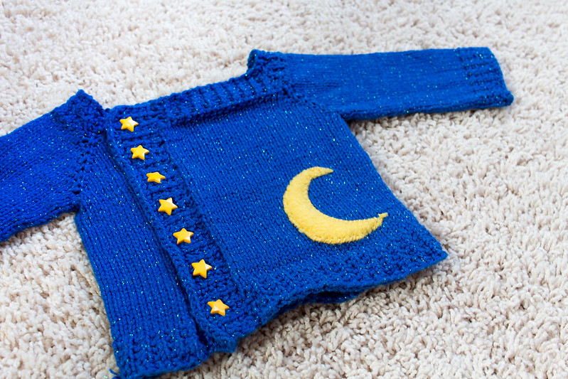 Baby Astronomy Sweater