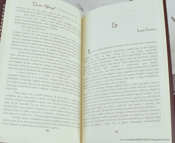 diagramação, Resenha, livro, Eu me ofereço! Um tributo a Stephen King, antologia, contos, terror, Illuminare, RoMierling