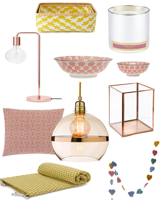Interior news for your home fashion passion love for Rosegold deko