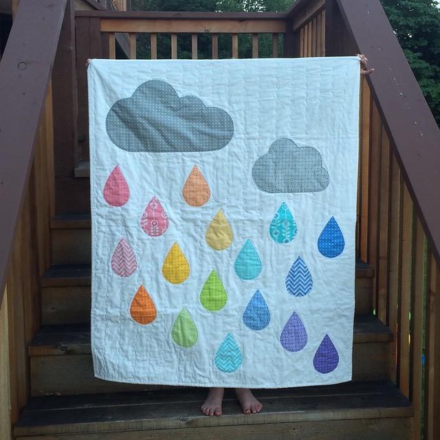 Rainbow Rain Finish