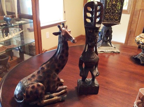 African figures | by Thornhill Auction