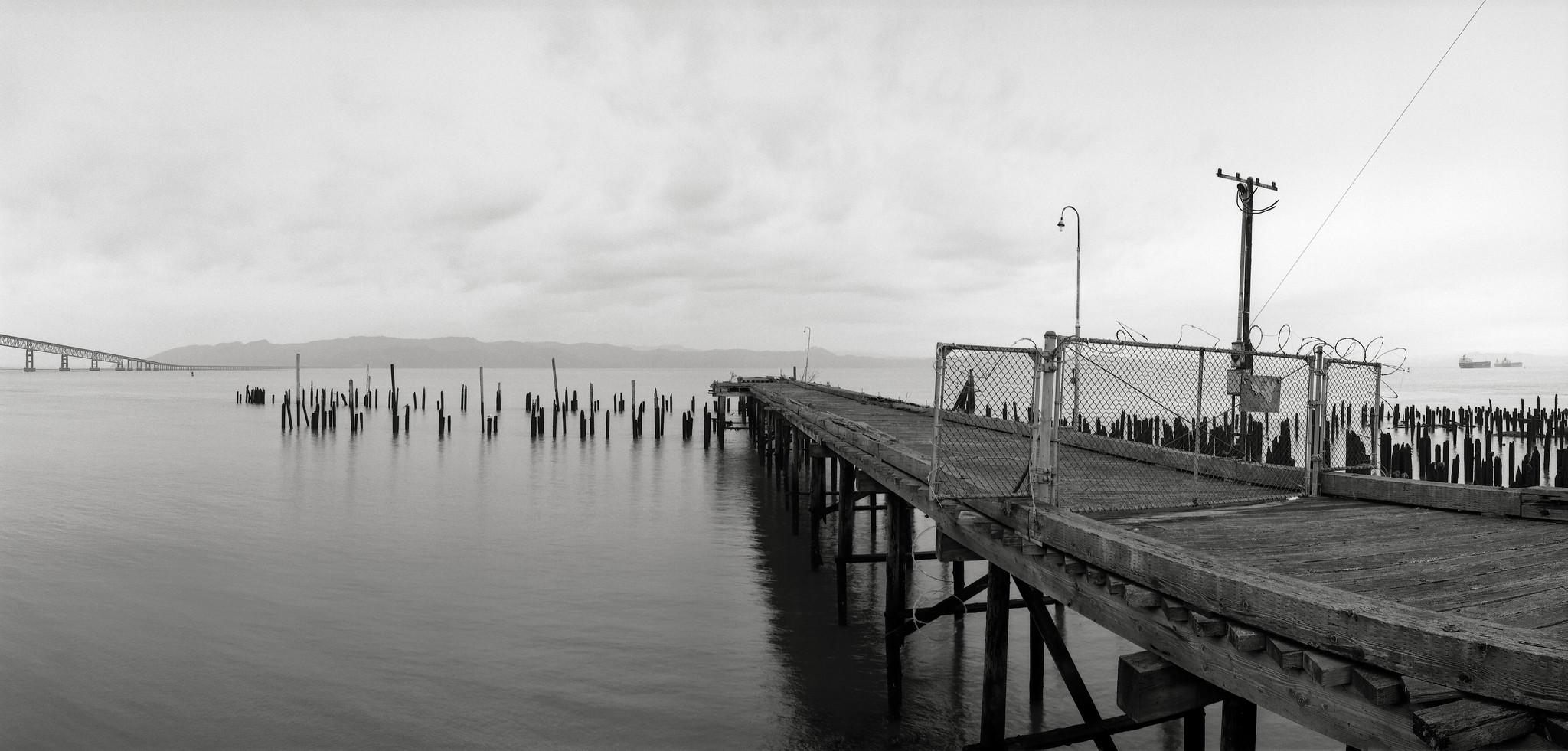 Pier, Columbia River, Astoria, Oregon | by austin granger