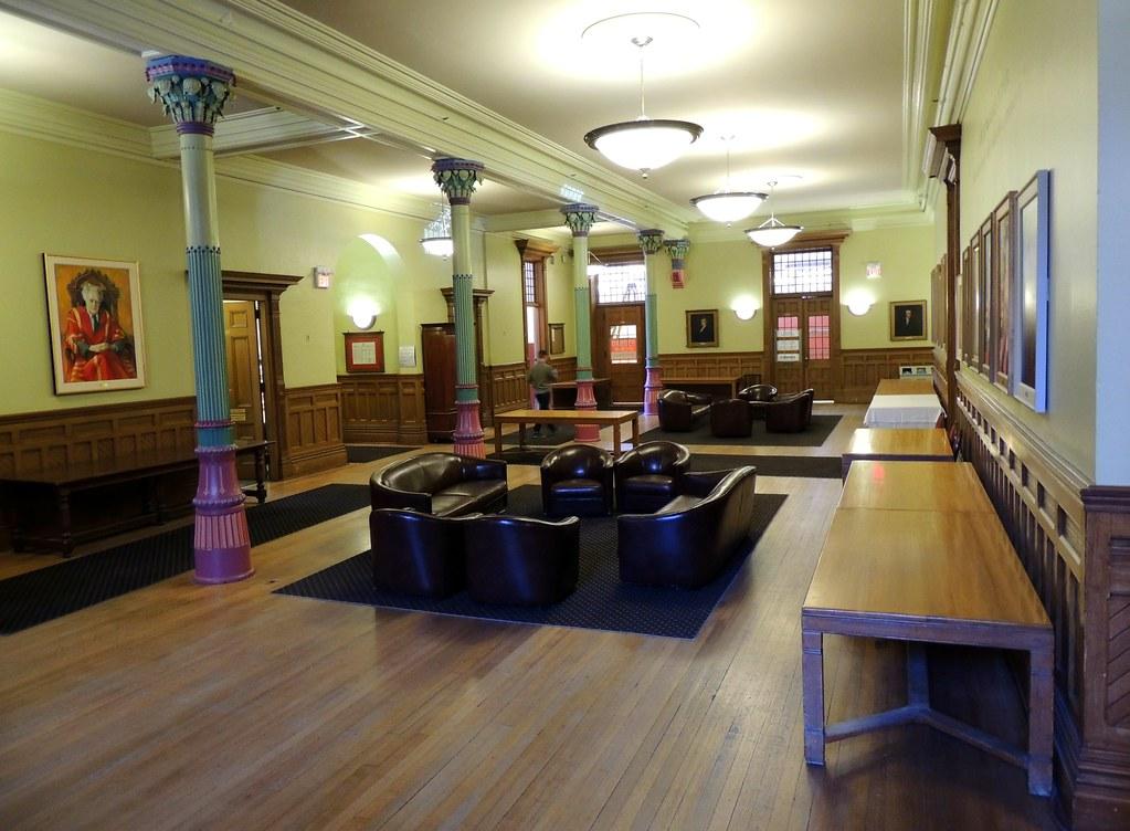 Victoria College University Of Toronto First Floor Interior Foyer